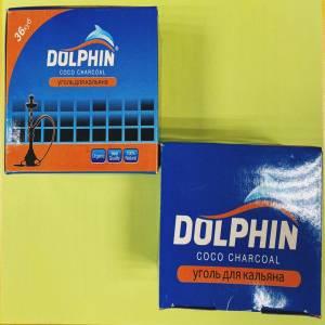 уголь для кальяна Dolphin 0.5кг